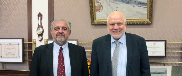 Meeting of  MSPU rector and  the rector of Sofia University «St. Kliment Ohridski»