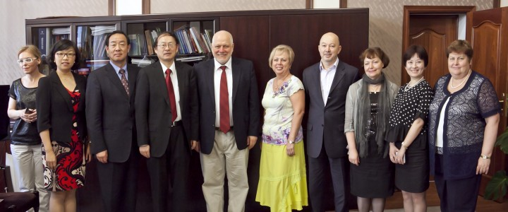 The expansion of cooperation with Shaanxi Normal University
