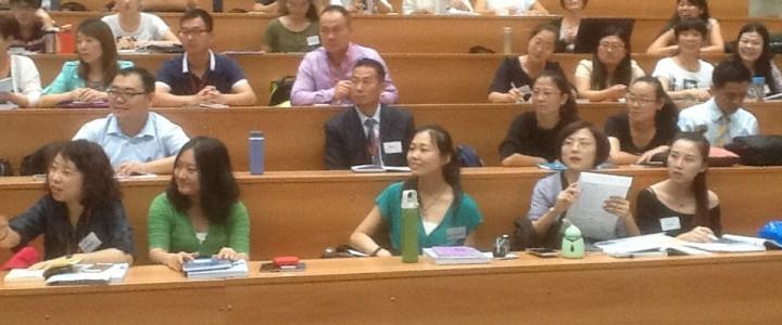 Postgraduate students of Weinan Normal University (China) are studying at MSPU