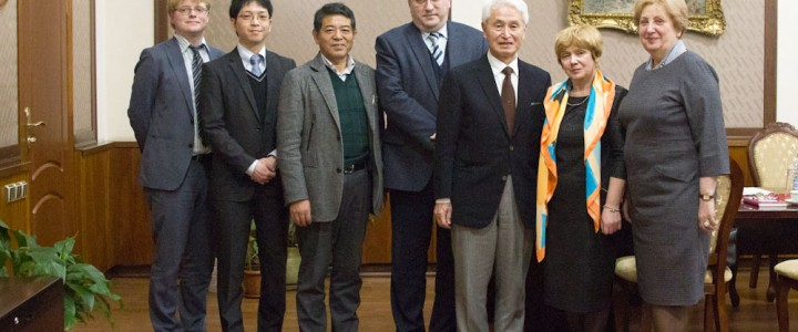 Professors from Japan Universities visited MSPU