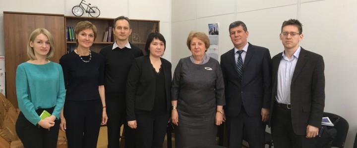 A meeting with Kazakh-Russian International University administration