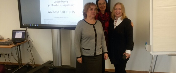 O.L. Zvereva, professor of the department of preschool pedagogy took part in the meeting of Europe association of psychology lecturers in Luxembourg