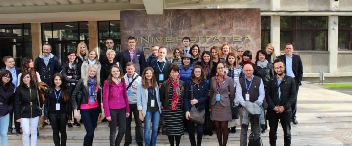 Erasmus Staff Training Week in Romania, West University of Timisoara