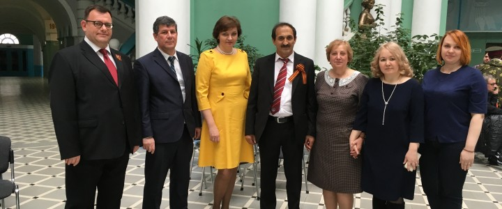 Starting of educational cooperation with Kurgan-Tuybe State University named after Nosir Khusraev