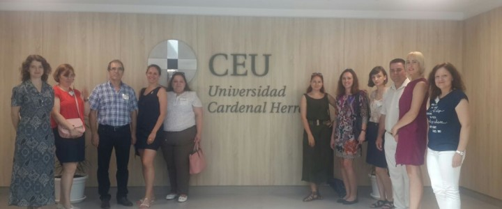 International Erasmus + Week at the University of Cardenal Herrera