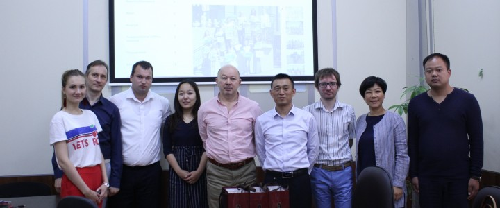 The visit of the delegation from China to MSPU