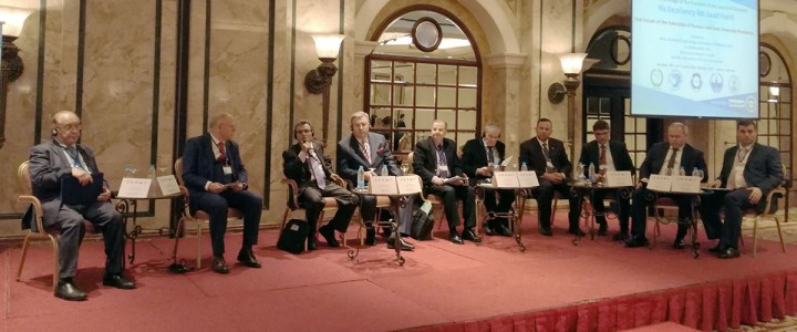 MPGU Rector Alexey Lubkov attended the First Forum of the Federation of Russian and Arab University Presidents
