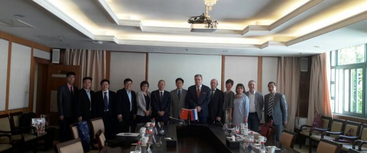 The end of official visit of MPGU delegation to China