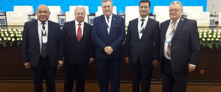 "MPGU Rector took part in the First Russian-Uzbek Educational Forum ""New Personnel for  New Economy"""