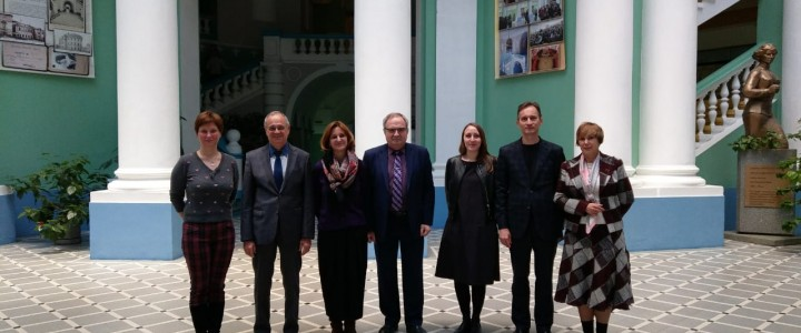 French Embassy Representatives visited MPGU