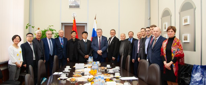 Delegation from Central China Normal University visited MPGU