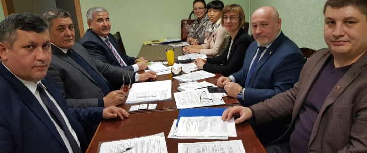 Delegation of the branch of MSU named after M.V. Lomonosov in the city of Tashkent visited MPGU