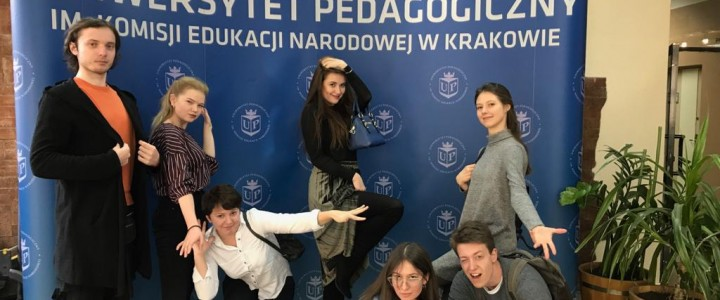 Hello, Poland! Hello, Pedagogical University of Cracow!