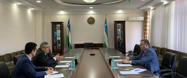 MPGU Rector had a Meeting with Uzbekistan Minister of Education