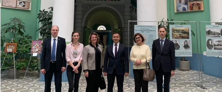 Delegation from  Erciyes University visited MPGU
