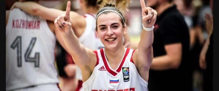 MPGU Student is a Silver Medalist in FIBA U20 Women's European Championship