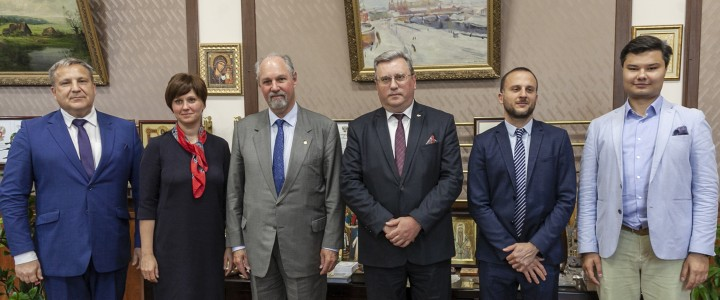 Ambassador of Argentine in Russia visited MPGU