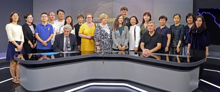 Department of Eastern Languages visited China