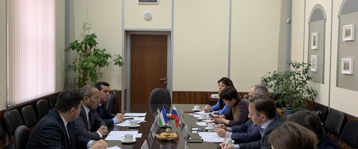 Bukhara State University visited MPGU