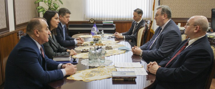 Delegation from Lugansk State Pedagogical University visited MPGU